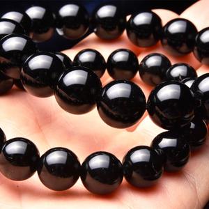【強力な邪気払いの石】天然石モリオン 黒水晶・ブレスレット(10mm)