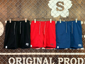 【新作/3色展開】NYLON SHORT PANTS