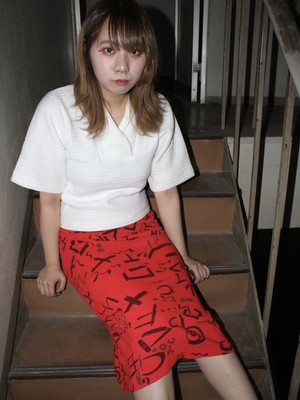 落書きスカート