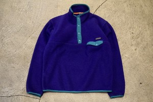 USED 80s patagonia Synchilla Snap-T -Large F0610