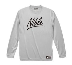 "Nible Heavy Weight Long Sleeve Shirt  ""Hand Writing"""