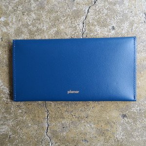 Recycle Leather Blue Plain (Planar)