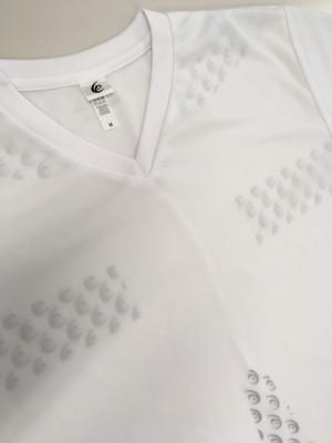 リライブシャツ-プリント/Tシャツ/ポリエステル/白