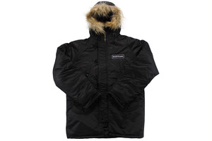 N-3B  military jacket BLACK