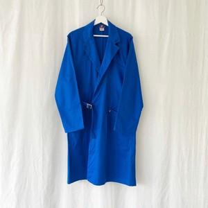 "FRANCE ""ADOLPHE LAFONT""cotton tie locken work coat-DEAD STOCK-"