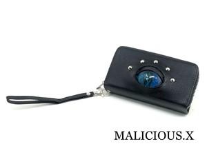 reptiles(A) eye  smartphone case / blue