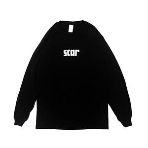 scar /////// SCARX L/S TEE (Black)
