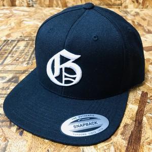 """GrooveCAP(BLACK) """"G"""" Logo&GROOVE FACTOR Logo"""