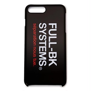 FULL-BK - SYSTEMS iPhone CASE (7plus/8plus) -
