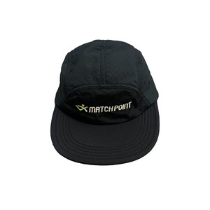 COMFORTABLE REASON / SQUASH CAP -BLACK-