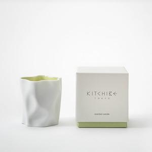 心地よい香りのキャンドル Crinkle Candle -WASHI- KITCHIBE