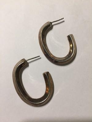 Vintage 925 silver pierced earrings ( ヴィンテージ  シルバー ピアス )
