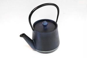 南部鉄器 鉄瓶 ウッドグレイン ワスレナグサ 0.6L