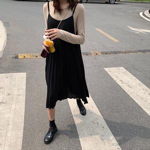 【ワンピース】洋服通販おすすめキャミソールプリーツスカートカジュアルワンピース22831041