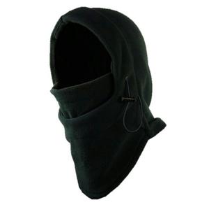 【寒さ対策】多機能 防寒 フェイスマスク ユニセックス ブラック  男女兼用