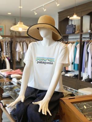 patagonia/パステルロゴオーガニックTシャツ