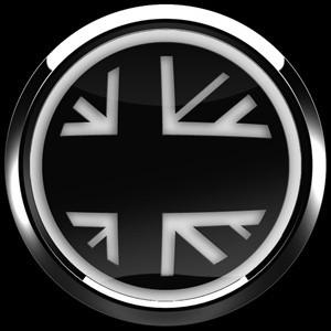 3Dゴーバッジ 1番 FLAG BLACKJACK