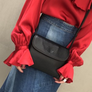 OLD GUCCI black shoulder bag