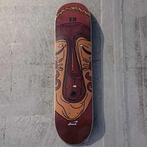 SNACK SKATEBOARDS / NATHAN 'MASK' / 8x31.4inch ( 20.32x79.756cm)