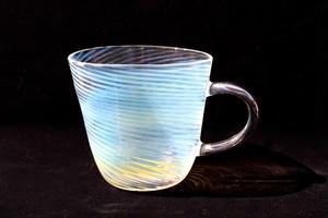 glass 渦マグカップ