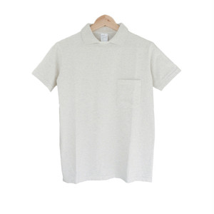 arbre ポロカラーTシャツ Polo Collar T-Shirt オートミール