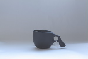 1mogu cup M  BLACK(山桜材)
