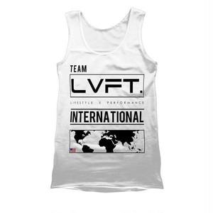 LIVE FIT.リブフィット International Tank(タンクトップ)-  【White】 メーカー直輸入品!