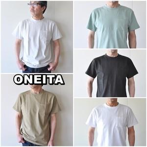 ONEITA オニータ 半袖ポケットTシャツ 0222ONP 半袖Tシャツ メンズ 無地