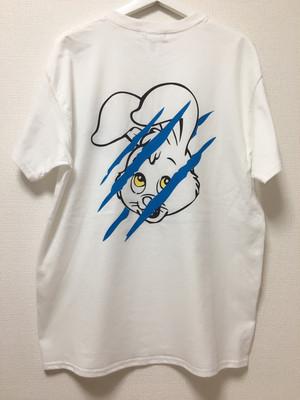 PsychoRabbit バックプリントTシャツ