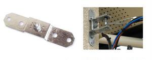 壁面取付金具ベースA (溶融亜鉛メッキ仕上)