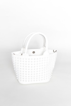スタッズバッグ Sサイズ ONI×ホワイト×ホワイト×ホワイト
