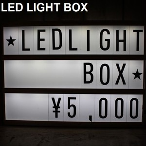 LED Light Box【予約】