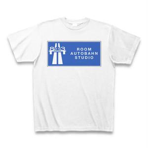 Room Autobahn Studio Logotype1 T-Shirt (White)
