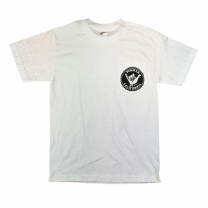 Bummer California - SHAKA WHITE POCKET T-SHIRT