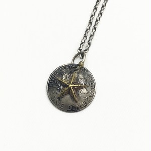 amp japan/Star Dime Concho Necklace