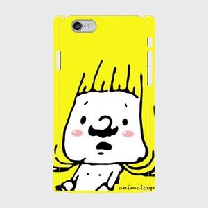 ヒゲ美さん 側表面印刷スマホケース iPhone6/6s