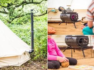 フラッシングキット付フロンティアストーブプラス Frontir plus portable wood-burning stove [Anevay]フロンティアプラスストーブ