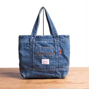 SELVEDGE DENIM SMALL TOTE BAG USED【セルヴィッジ デニム スモール トートバッグ USED】