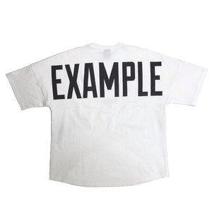 EXAMPLE LOGO BIG TEE /WHITE