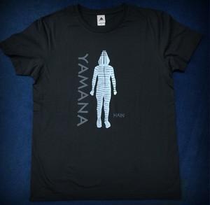 YAMANA Tシャツ Ulenモデル1 ブラック