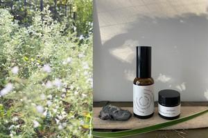 aroma healing spray「Towards the light」 & aroma healing balm「brilliant」セット