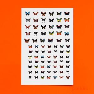 ネイルシール 蝶