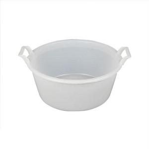 【3122WT】Round bucket 12L バケツ / シンプル / スタッキング