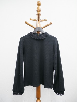 corduroy tops (black)