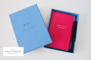 "【Sold Out】<スマイソン|SMYTHSON>パナマノート ""INSPIRATION AND IDEAS"" PANAMA