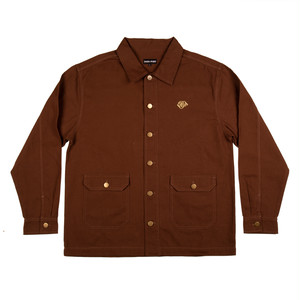 PASS PORT / MASTERS JACKET -BROWN-