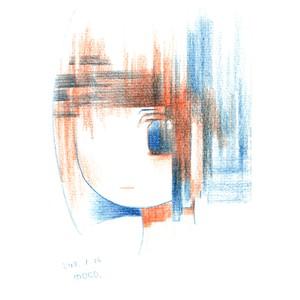 赤青鉛筆ドローイング 66