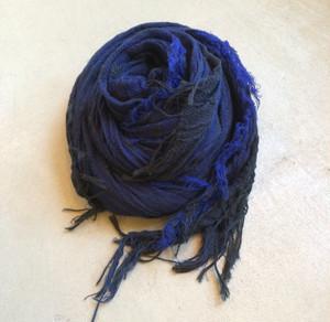 "【tamaki niime タマキニイメ】 ""roots shawl cotton"" (big) basic002"