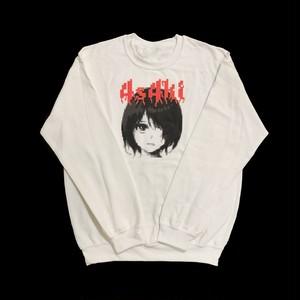 4s4ki × otone Sweatshirts(白)