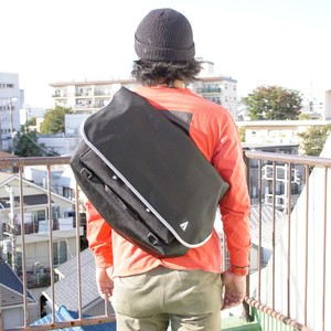 【即納】MessengerBag Classic 027(Black × Grey)